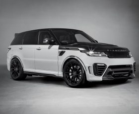 Cel mai excentric Range Rover, Overfinch SuperSport