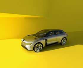 Renault Morphoz, concept electric cu ampatament variabil