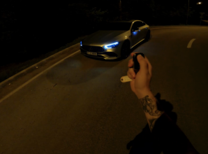 SPECTACOL in NOAPTE: Mercedes-AMG GT 53 pe drumurile din Romania… VEZI VIDEO!