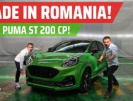 PREMIERA MONDIALA: VEZI VIDEO EXCLUSIV cu PUMA ST de 200 CP MADE IN ROMANIA!
